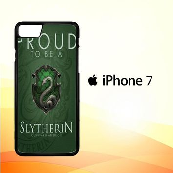 Proud To Be Slytherin F0574 iPhone 7 Case
