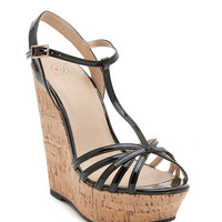 Briana-S Favorite Cork Wedge