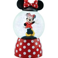 Disney Minnie Mouse Polka Dot Water Globe