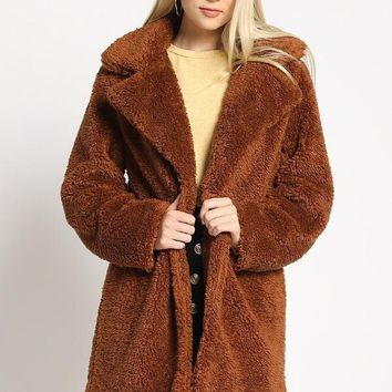 Are You Faux Real Coat