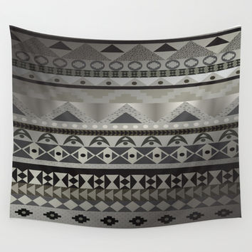 Aztec Print Wall Tapestry by GoAti