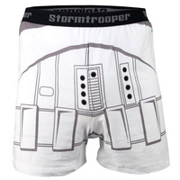 Star Wars - Trooper Costume Adult Boxer Shorts