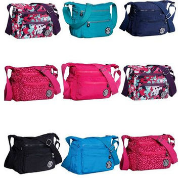 2016 New Waterproof Nylon women messenger bags 100% Original Kiple Style Casual Clutch Carteira Female Travel KP Shoulder Bags