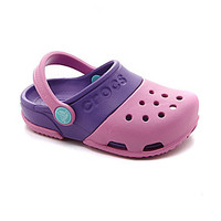 Crocs Girls' Electro II Clogs - Party Pink/Neon Purple