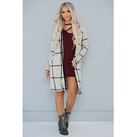 Worth Your Time Button Up Cardigan (Heather Grey)