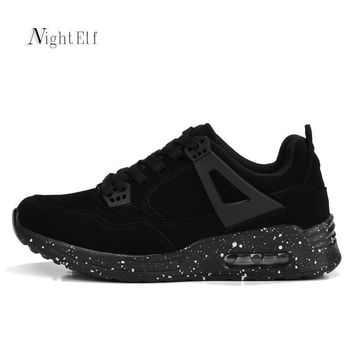 Night Elf women sneakers breathable air mesh running shoes for women high quality blac