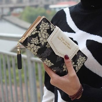 Trendy Lady's Wallet & Card holder