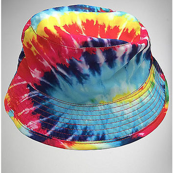 Tie Dye Infant Bucket Hat - Spencer's