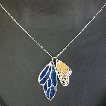 Add-on - Butterfly Wing Pendants