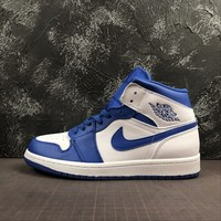 Air Jordan 1 Mid Hyper Royal Sneaker - Best Deal Online