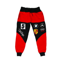 Club Foreign Race Sweatpant Joggers Red