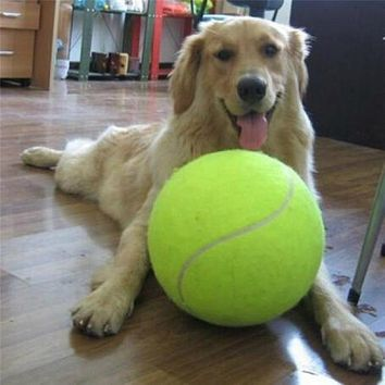 Practice Tennis Ball Beach Dog Pet Toy Sports Tournament Outdoor Fun Cricket Pet Toy Tennis Ball Dog Chew Toy New
