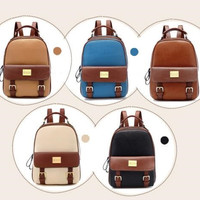 England Style Vintage Back To School Backpack [6582232071]