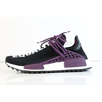 BC DCCK Adidas PW Pharrell Williams HU Human Race NMD HOLI MC Core Black Purple AC7033 (NO Codes)