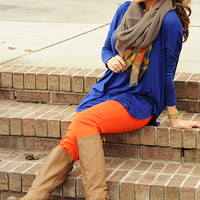 Piko Boo Tunic: Royal Blue