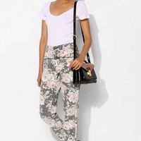 BDG Seamed Mom Jean - Chintz Rose- Floral Multi
