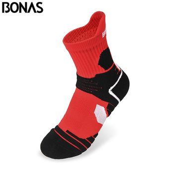 Bonas Athletics Short Socks Dry Fabric Socks Thick Summer Sweat