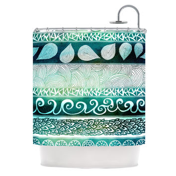 "Pom Graphic Design ""Dreamy Tribal"" Shower Curtain"