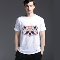 Short Sleeve Tee Fashion Strong Character Cotton Summer Casual Men's Fashion T-shirts = 6451274243