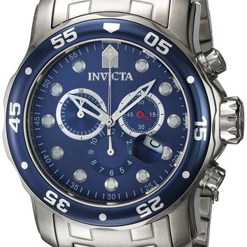 Invicta Men's 0070 Pro Diver Collection Chronograph Stainless Steel Watch