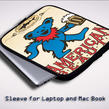 Grateful Dead X0346 Sleeve for Laptop, Macbook Pro, Macbook Air (Twin Sides)