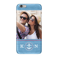 Blue Nautical iPhone 6 Plus ColorStrong Slim-Pro Case - Cherishables