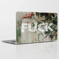 fuck; Laptop & iPad Skin by Pink Berry Patterns