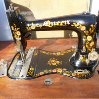 Rare vintage Queen Sewing machine