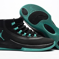 JORDAN ULTRA FLY 2 X Black/Jade Basketball Shoes US7-12