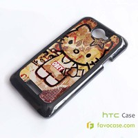 OBEY HELLO KITTY HTC One X, M7, M8 Phone Case Cover