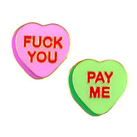 Fuck You Hearts Pin Set