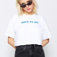 Cold As Ice Crop Tee