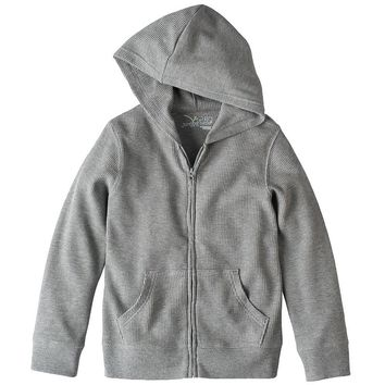 Jumping Beans Thermal Full-Zip Hoodie - Boys 4-10, Size: