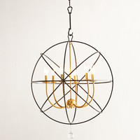 Gold Orbit Chandelier - Neiman Marcus