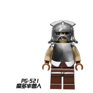 Single Sale Mordor Orc PG521 PG8036 Building Blocks Toys for Children Legoing Lord of the Rings the Hobbit 79007 Figure Legoings