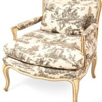One Kings Lane - High Falls Mercantile - Toile Armchair