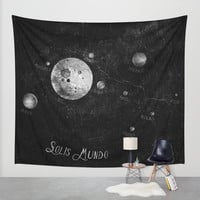 Solis Mundo I Wall Tapestry by HappyMelvin