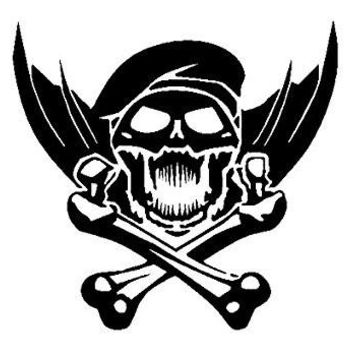 Call Of Duty Skull Crossbones Xbox 360 One Vinyl Car/Laptop/Window/Wall Decal