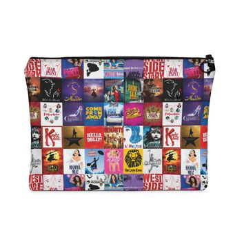 Broadway Show Art Carry All Pouch