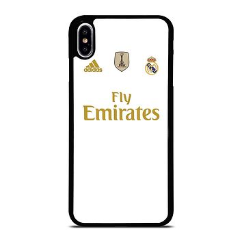 REAL MADRID HOME JERSEY iPhone XS Max Case