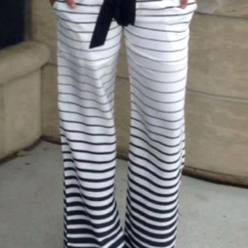 Striped Ombre Lounge Pants