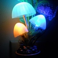 Glowing Mushroom Night Light