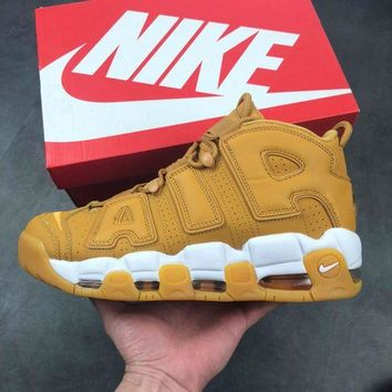 Nike Air More Uptempo Fashion Women Men Casual Sports Basketball Shoes Sneakers