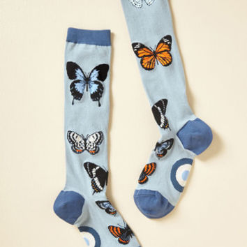 Flutter on By Socks | Mod Retro Vintage Socks | ModCloth.com