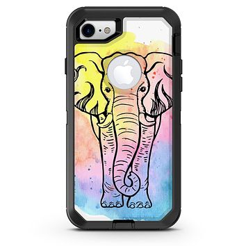 Sacred Elephant Watercolor - iPhone 7 or 8 OtterBox Case & Skin Kits