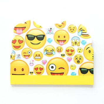 10pcs/lot Emoji Cartoon Theme Party Paper Invitation Card Birthday Kids Party Decorations Baby Shower Supplies Party Favors
