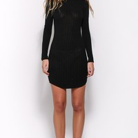 Beatnik Dress Black