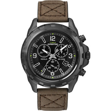 Timex Expedition rugged Chronograph Watch Brown/Black T49986 T49986 753049000000