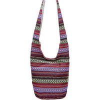 Ethnic Shoulder Crossbody Hobo Bag
