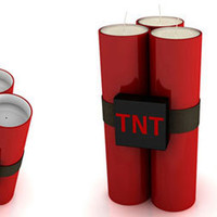 TNT CANDLE and INCENSE HOLDER - Meninos Store